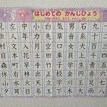 うちの子が2歳で漢字を覚えた方法