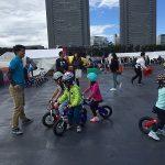 3歳で補助輪なし自転車に乗れる!?自転車教室